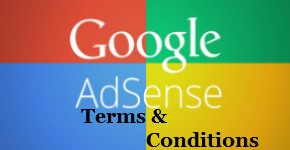 adsense terms